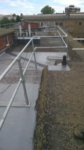 Marshwood Roof aquapol work.B. July2015
