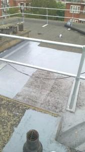 Marshwood Roof aquapol work.D. July2015